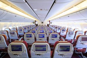 Header image - Plane seats