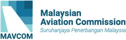 Malaysian Aviation Commission (MAVCOM) Logo